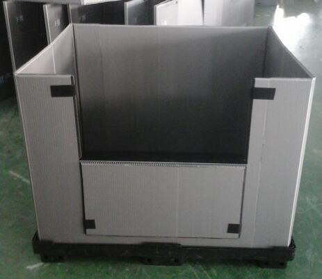 塑料折叠周转箱